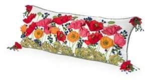 Mackenzie Childs Poppy Lumbar Pillow