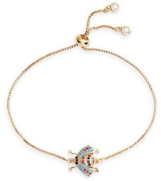 Ten79LA Beetle Pendant Bracelet
