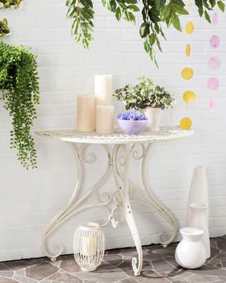 Safavieh Annalise Half-Round Indoor/Outdoor Accent Table