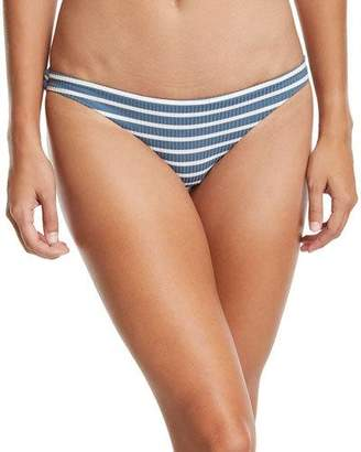 12f9efa374777 Vitamin A Luciana Full-Coverage Striped Swim Bikini Bottoms