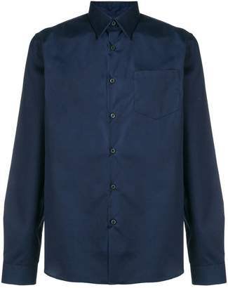 Prada long-sleeve poplin shirt