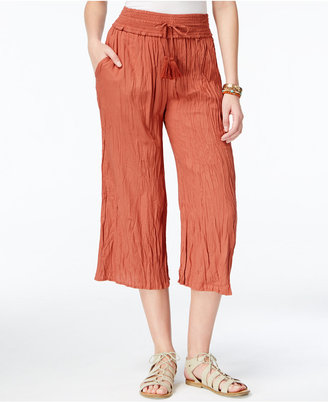American Rag Crinkled Gaucho Pants, Only at Macy's $44.50 thestylecure.com