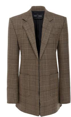 Proenza Schouler Checked Wool-Blend Blazer