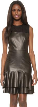 Jason Wu Leather Sleeveless Dress $3,595 thestylecure.com
