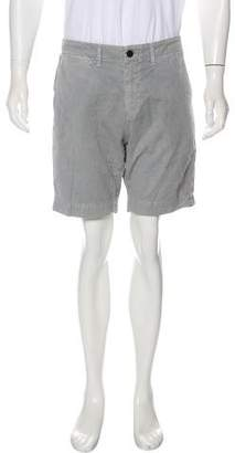 Billy Reid Solid Woven Shorts