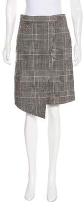 Andersson Bell Knee-Length Plaid Skirt