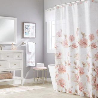 SKL Home Misty Floral Shower Curtain