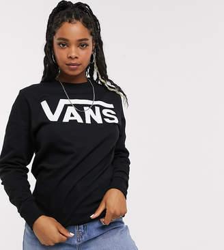 Vans Black Classic Logo Sweatshirt