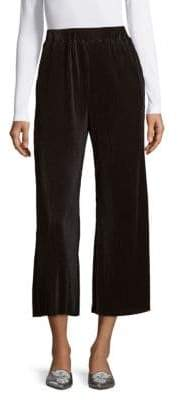 ENGLISH FACTORY Elasticized Satin Pants
