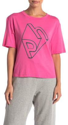 THE PHLUID PROJECT PH Cropped Graphic Tee