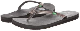 Sanuk Yoga Joy Metallic Women's Sandals