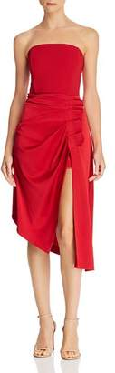 Ramy Brook Carmen Asymmetric Strapless Dress