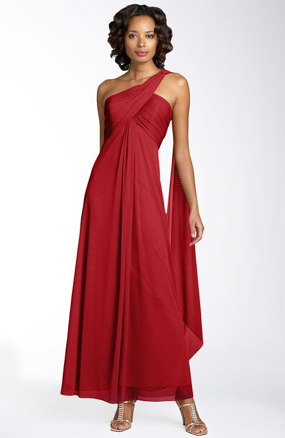 Alex Evenings One Shoulder Gown