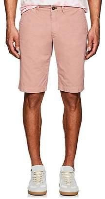 Barneys New York Men's Cotton Slim Shorts - Pink