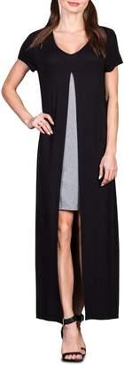 Savi Mom Milan Maternity/Nursing Maxi Dress
