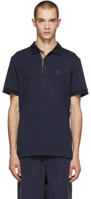 Burberry Navy Hartford Polo