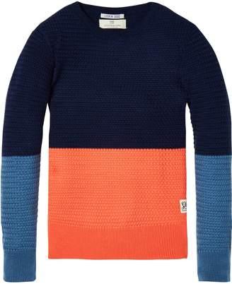 Scotch & Soda Colour Block Sweater