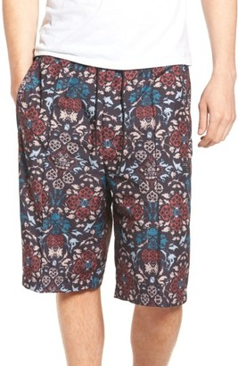 Men's Adidas Originals Print Drawstring Shorts $70 thestylecure.com