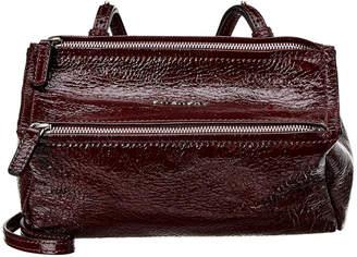 Givenchy Mini Pandora Patent Shoulder Bag