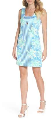 Lilly Pulitzer R) Chiara Stripe & Floral Print Dress