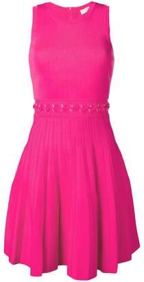 MICHAEL Michael Kors lace-up waist midi dress