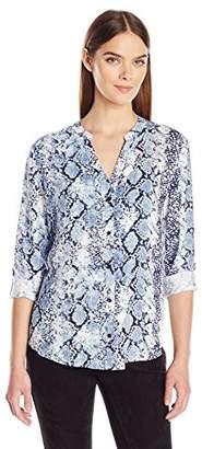 Joie Women's Dane Python Print Shirt