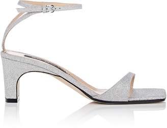 Sergio Rossi Women's Glitter Ankle-Strap Sandals