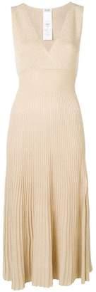 Liu Jo lurex knit midi dress