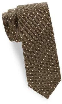 Tom Ford Textured Dots Silk Tie