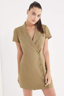 Urban Outfitters Clementine Double-Breasted Collared Dress