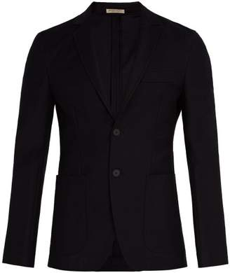 Bottega Veneta Notch-lapel cotton-blend blazer