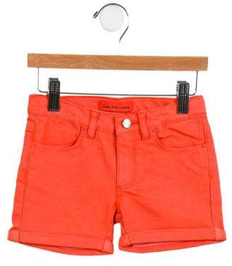 Arsène et les Pipelettes Girls' Four Pocket Denim Shorts w/ Tags