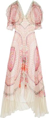 TEMPERLEY LONDON Dream Catcher silk-chiffon dress $1,496 thestylecure.com