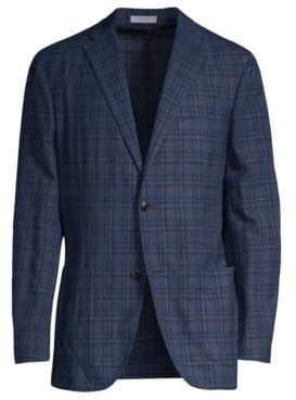 Boglioli Wool Plaid Jacket