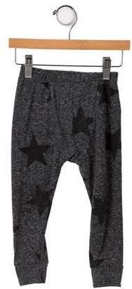 Nununu Boys' Star Print Knit Leggings