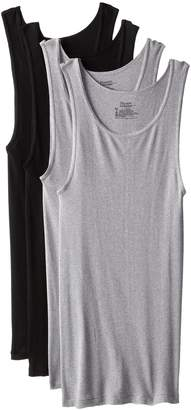Hanes Men's 4-Pack ComfortSoft Dyed Tank
