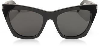 0d9acd4c32 Saint Laurent New Wave 214 KATE Acetate Sunglasses