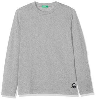 Benetton Boy's T-Shirt L/s,100 (Manufacturersize: XXS)