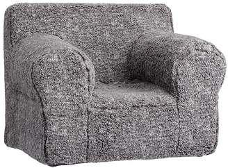 Pottery Barn Kids Oversized Gray Heathered Anywhere Chair® Slipcover Only