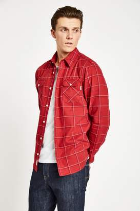 Jack Wills Enmore Lw Slub Check Flannel Shirt