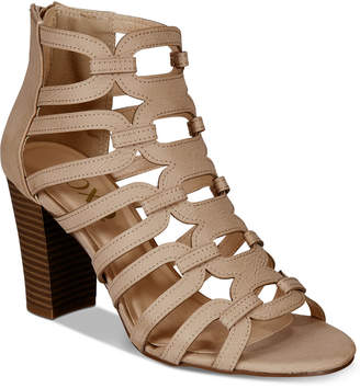 XOXO Bloomington Caged Dress Sandals Women's Shoes