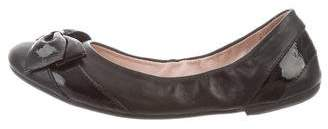 Bloch Bow Leather Flats