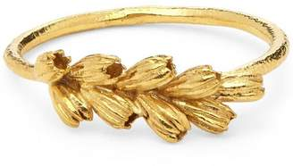 Alex Monroe Gold-Plated Clustered Seed Pod Ring