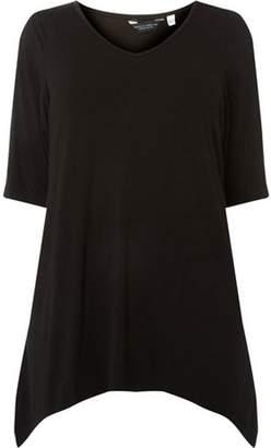 Dorothy Perkins Womens **DP Curve Black Cold Shoulder Top