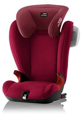Britax Römer KIDFIX SL SICT Black Series Group 2-3 (15-36kg) Car Seat - Flame Red