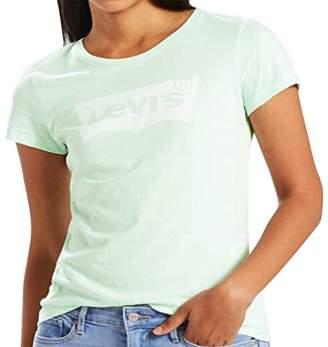 Levi's Women's Slim Crew Logo Tee Shirt