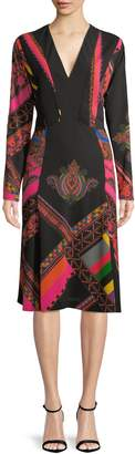 Etro Women's Tapestry Print A-line Dress
