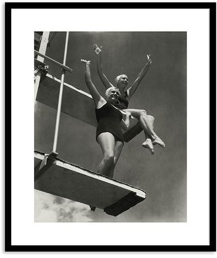 High Divers 1932 Wall Art