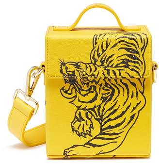 Angel Chen Tiger print crossbody box bag