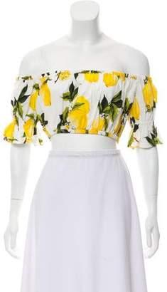 Dolce & Gabbana 2016 Lemon Print Top